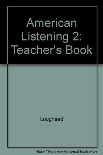 New, Learning to Listen: Level 2 Teacher's Book, Lougheed, Book