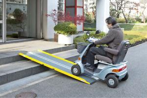 30100-165-Guldmann-1-65m-Guldmann-Dunslope-Lite-Ramp-Portable-Wheelchair-Ramp