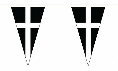5x3 St Piran Cornish Flag Kernow Flag of Cornwall Premium quality Cornish Flag