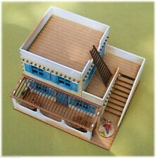 Old West Cowboy Building ADOBE 2 FLOOR CANTINA with stairs 25mm, 28mm Terrain...
