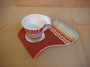 Villeroy Boch Wave villeroy boch wave caffe okavango espresso cup plate limited