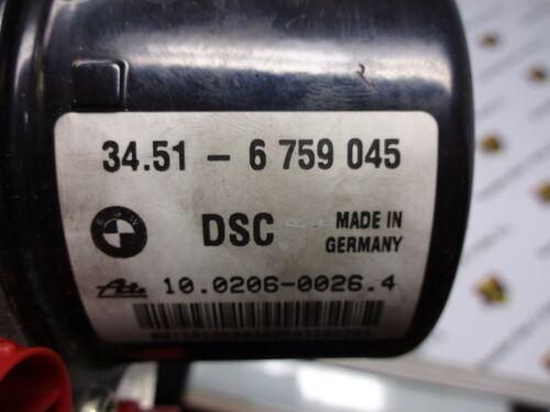 Details about  /ABS BMW E46 34516759045 Dsc 10020600264 00008744E0 6759047 10096008113 6759045