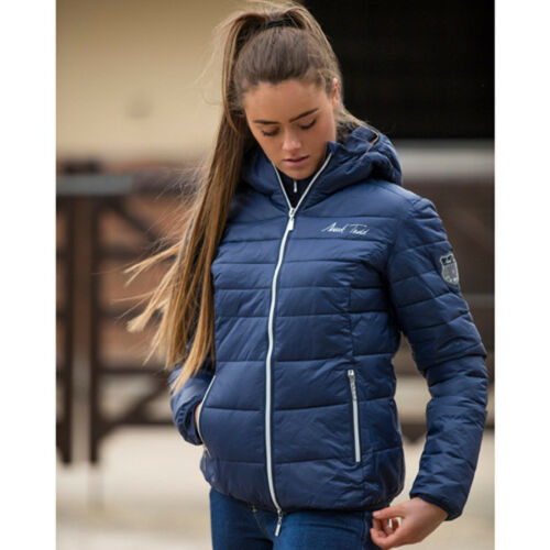 Navy Sizes XS to XL Mark Todd Reeflan Padded Womens Jacket