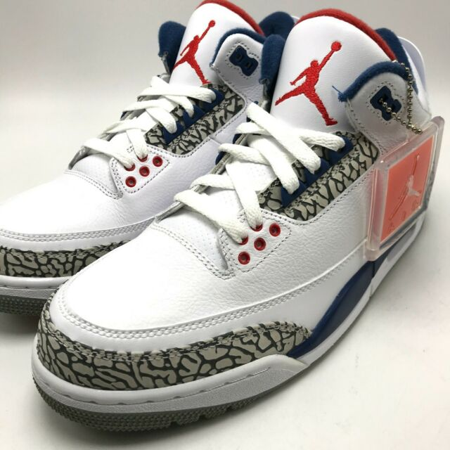 official photos e3406 00ccf Jordan Retro 3 OG True Blue Sz 8.5 100 Authentic 2016 Nike Air III 854262  106