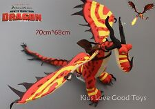 How to Train Your Dragon 2 Monstrous Nightmare Night Fury Plush Toy Doll 28''