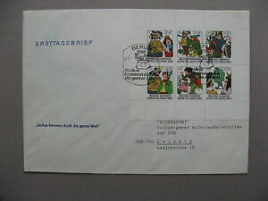 GERMANY-DDR-cover-FDC-1977-fairy-tale-How-Six-Made-Their-Way-in-the-World