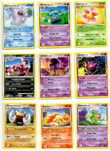 ccg Pokemon TCG D/&P Stormfront Rare Rare Cards