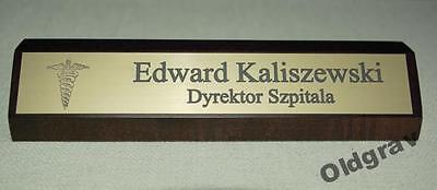 Schreibtisch-Namensschild aus Holz,Konferenz Tischaufsteller,Namensschild