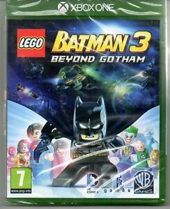 LEGO-BATMAN-3-Beyond-Gotham-034-NUOVO-amp-Sealed-039-XBOX-ONE-1