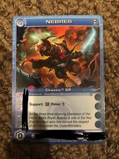 Random Stats Unused Code Chaotic Card OP Nebres