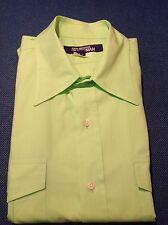 JUNYA WATANABE for COMME DE GARCON-Short Sleeve Shirt  (Green) Large