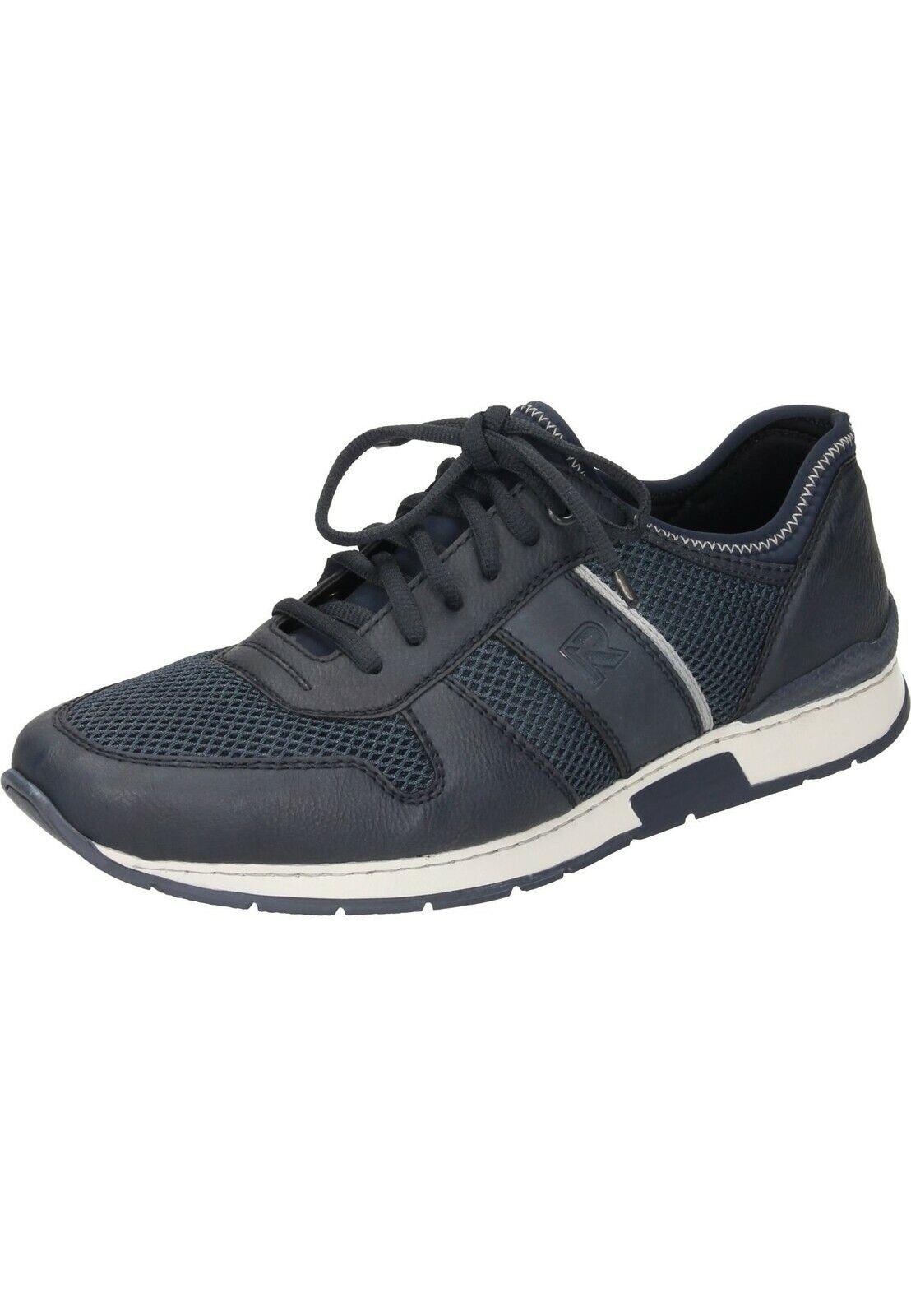 Rieker 19400-18 zapatillas zapato bajo zapatos caballero zapatos talla 40-46 azul neu7