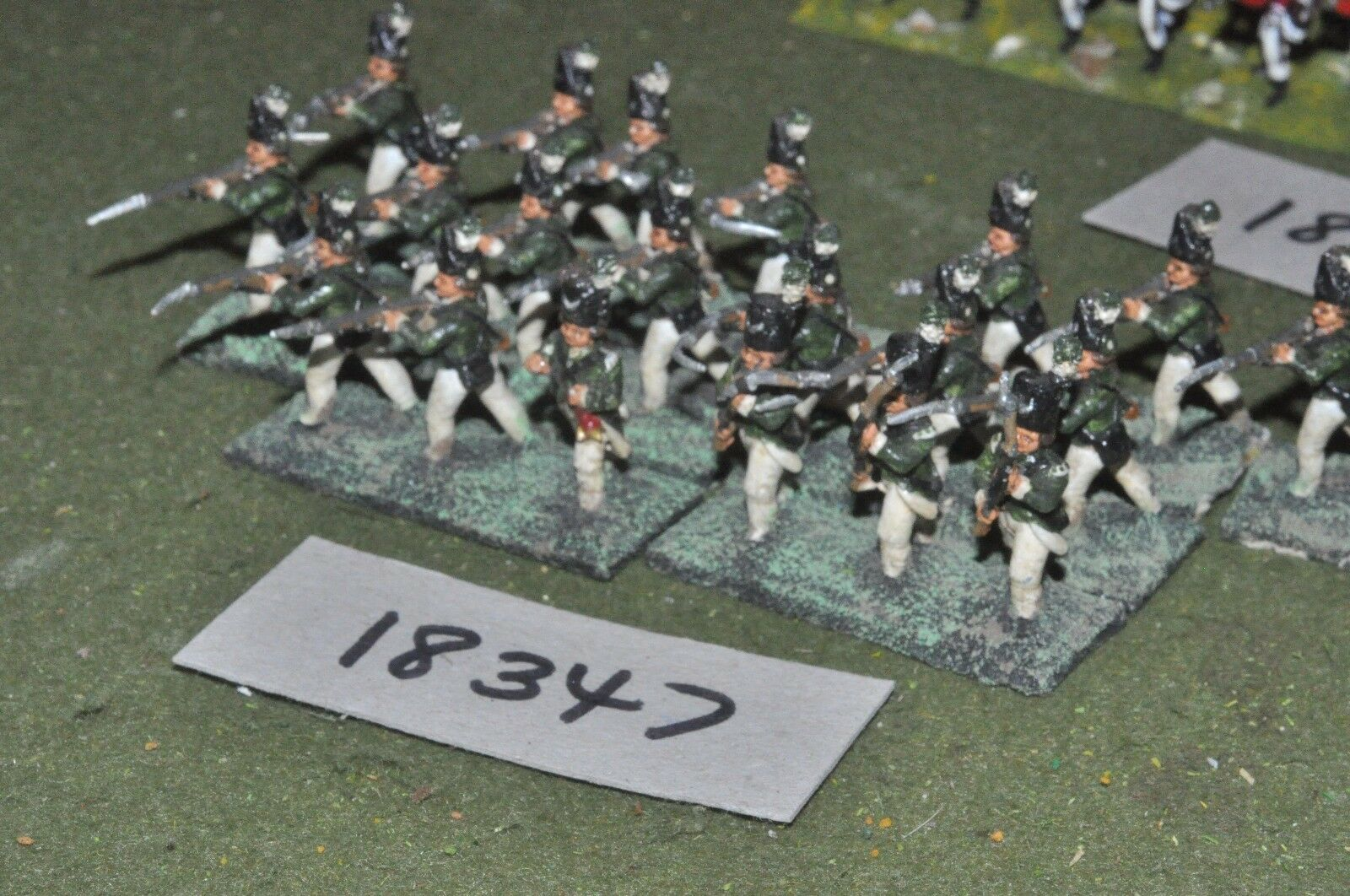 25mm AWI   british -  infantry 20 figs - inf (18347)