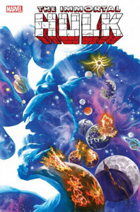 IMMORTAL-HULK-25-2019-ALEX-ROSS-COVER-MARVEL-1st-Print-NM-Bagged-amp-Boarded