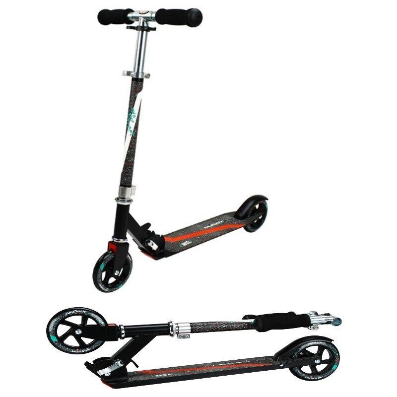 Cityroller Scooter Klapproller Faltroller 125mm mit ABEC 5 Kugellager Roller  | Exquisite Verarbeitung