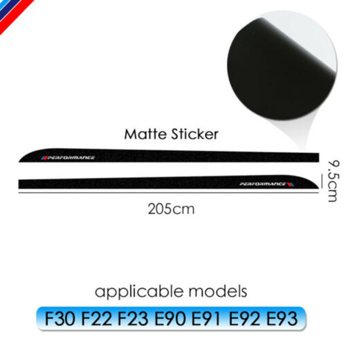 Skirt Sill Decal Side Stripe New M Performance Sticker for BMW f30 f31 g30 f10