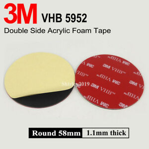 3M-58mm-VHB-Double-Sided-Foam-Adhesive-Tape-5952-Automotive-Mounting-GPS