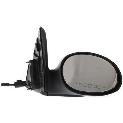 Passenger Side Mirror Textured Black For PT Cruiser 04-09