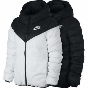 Nike Windrunner Jacket Black And White Mens Tag Nike