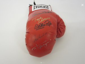 LEGENDS-OF-BOXING-MULTI-SIGNED-AUTO-MUHAMMAD-ALI-JOE-FRAZIER-5-Cert-997848