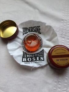 Expressif Hidersine Violon Rosin 3 V Occasion-afficher Le Titre D'origine Marchandises De Proximité