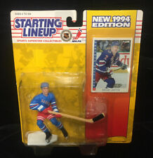 Brian Leetch 1994 New York Rangers Collectible Toy Action Figure with Trading Card