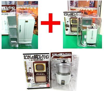 Bandai dollhouse miniature old fashioned washing machine