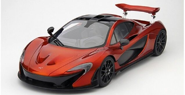 TSM 2013 MCLAREN P1 Volcano orange LE of 300 1 12 Scale. Hard to find