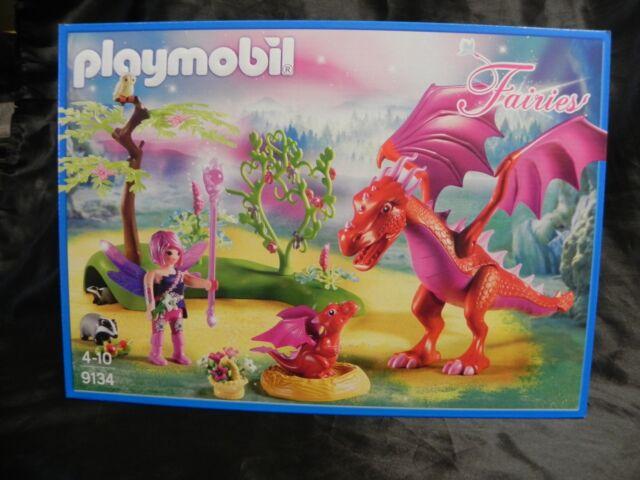 playmobil 9134 fairies neuf, 4-10 ans dragon, non ouvert