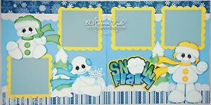 CraftEcafe-Premade-Scrapbook-Pages-Paper-Piecing-Snow-Winter-Snowman-BLJgraves-3