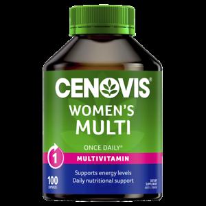 Cenovis-Women-039-s-Multi-100-Capsules-Once-Daily-Womens-Health-Multivitamin