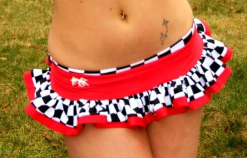 Funki-B Dribbles frilly skirt with built in knickers lots of colours rave plur