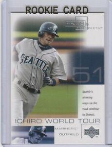 Details About Ichiro Suzuki Rookie Card Seattle Mariners Baseball 2001 Rc Ms Future Hofer