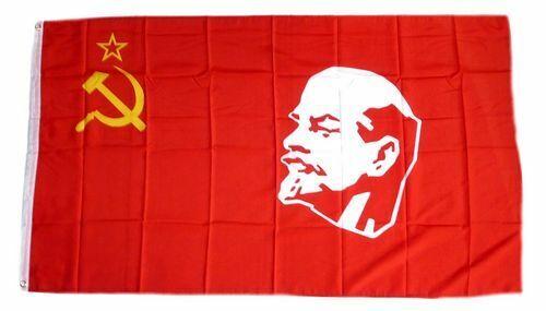 Bandiera//bandiera URSS Lenin Unione Sovietica hissflagge 90 x 150 cm