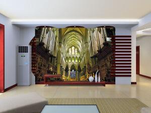 3D Beautiful Church 72 Wall Paper Murals Wall Print Wall Wallpaper Mural AU Kyra