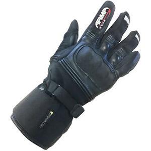 ARMR-climashield-CUIR-textile-impermeable-wp670-Gant-moto-noir-T