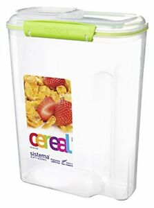 Sistema-KLIP-IT-Accents-Cereal-Container-4-2-L-Assorted-Colours