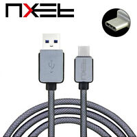 NXET Strong Braided Heavy Duty USB C 3.1 Type-C Data Snyc Charger Charging Cable