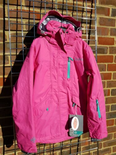 Ashima Size 10 Surfanic Pink Female ski jacket and winter coat