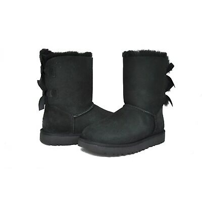 UGG Australia Women's Bailey Bow 2 II Boots 1016225 Black Chestnut Grey Sz 5-11