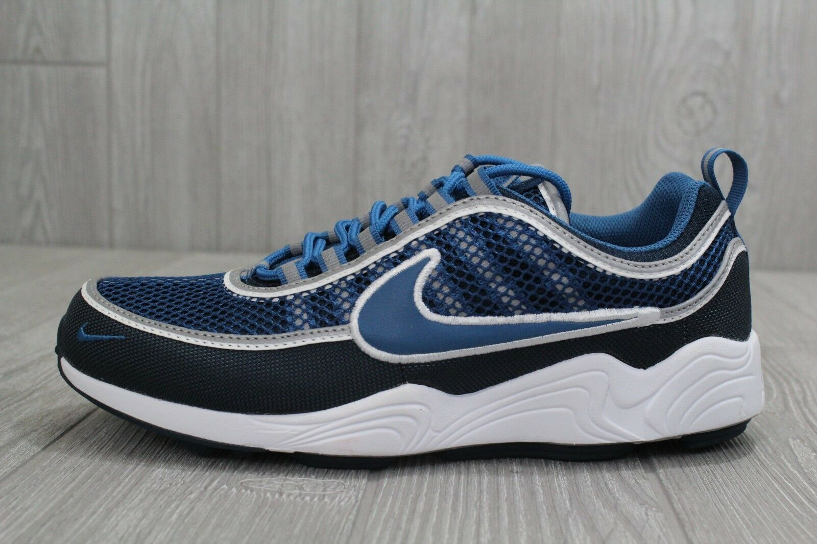 27 Nike Air Zoom Spiridon '16 Mens 926955-400 Armory Navy Running Shoes 8.5-13