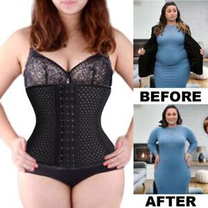 Waist-Trainer-Body-Shaper-Women-Shapewear-Tummy-Control-Slimmer-Corset-Plus-Size
