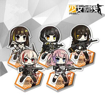Jeu de filles Frontline M4A1 M16A1 AR15 RO635 SOP2 Stand Figure Keychain Acrylique