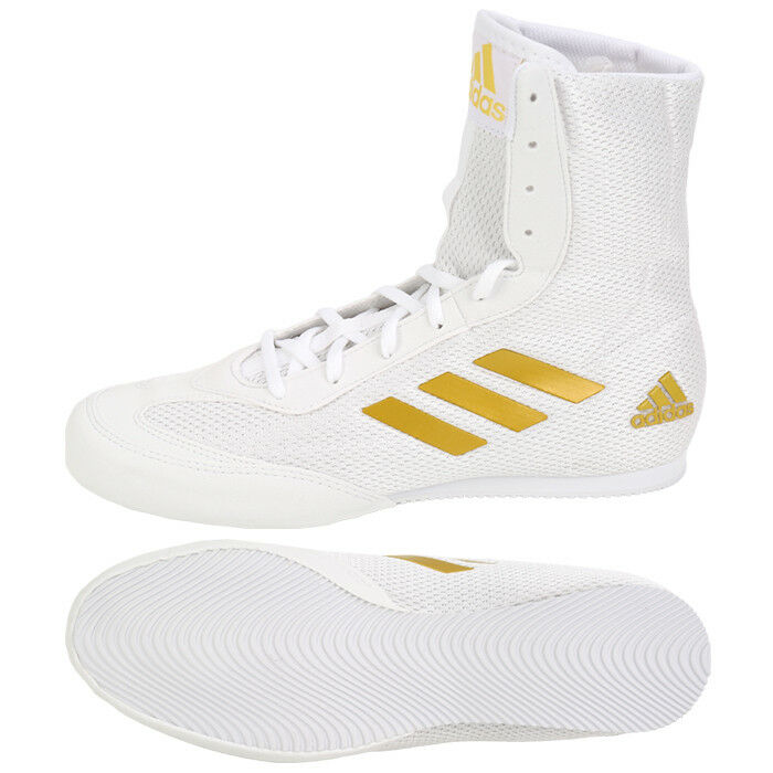 Adidas Box Hog Plus Boxing shoes (DA9899) Boxer MMA  Ring Sparring Boots  quality guaranteed