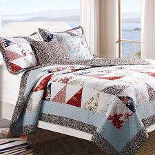 Greenland Home Global Trends Snug Harbor Quilt King Bedding Set