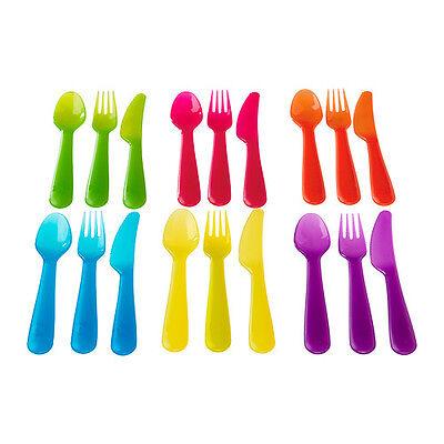 IKEA KALAS Baby Kids Plastic Cups Plates Bowls Cutlery Mugs set Children's Party