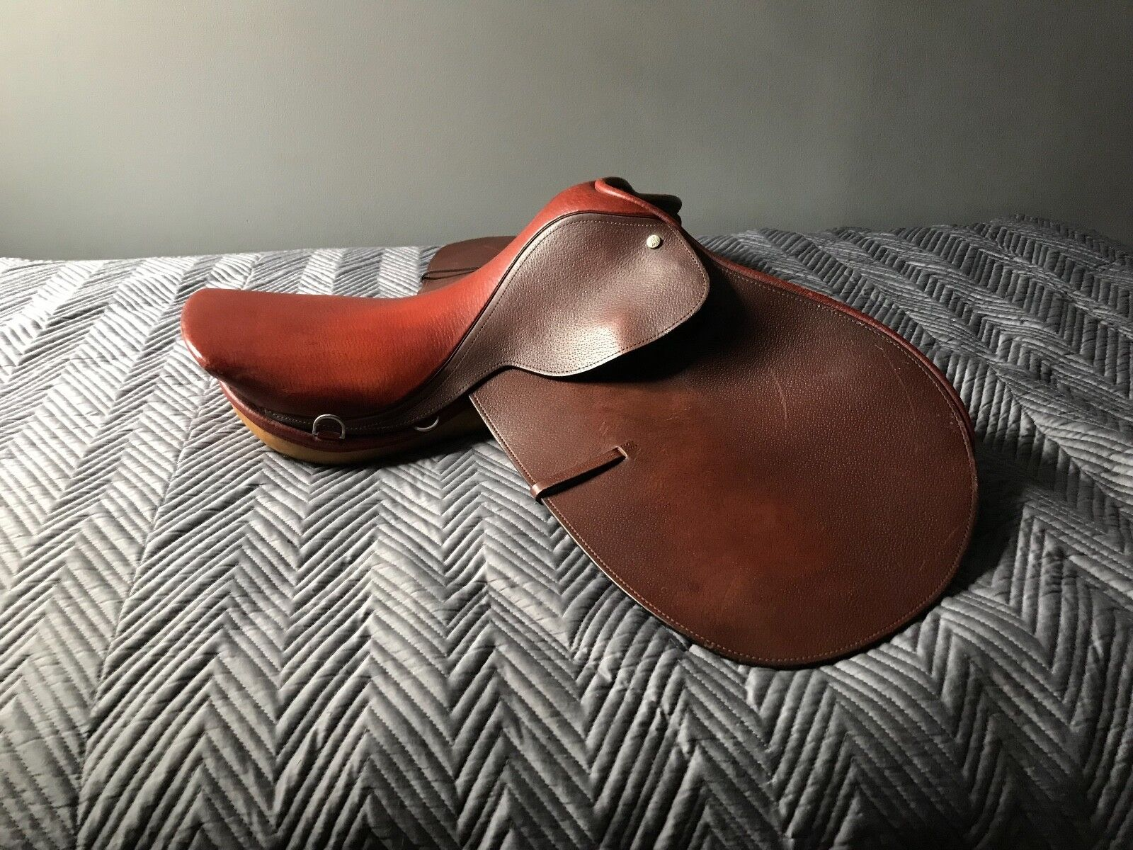 Hartley Galaxie Jumping Saddle 17 Very Good Condition