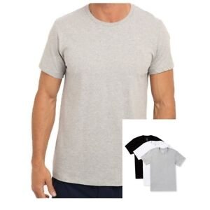 e0b5e08dd Details about Calvin Klein Men's CK Underwear 3 Pack Classic Fit Crew-Neck T -Shirts Basic Tee