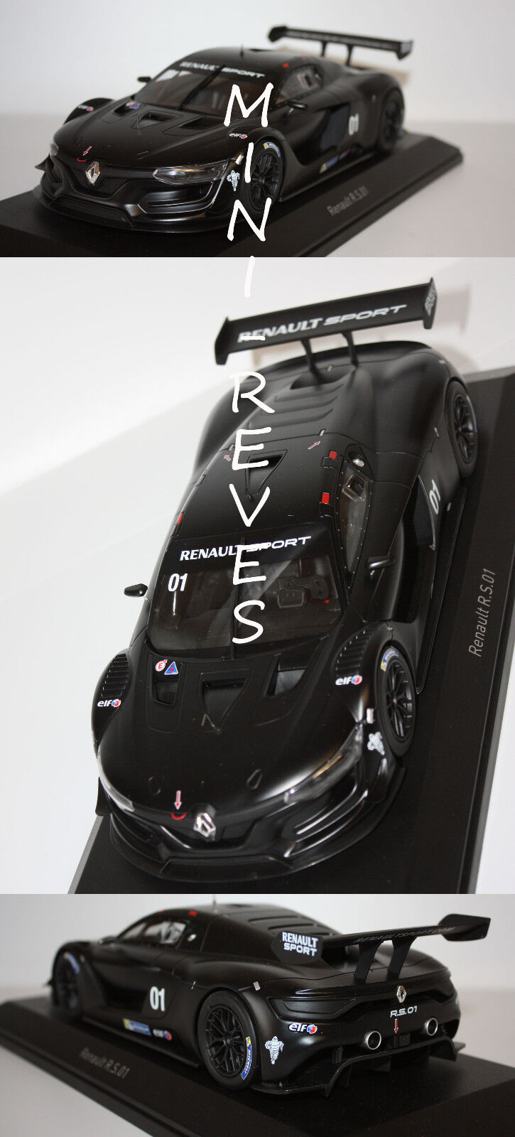 Norev Renault R.S.01 Version Test noir 2015 1 18 185136 11