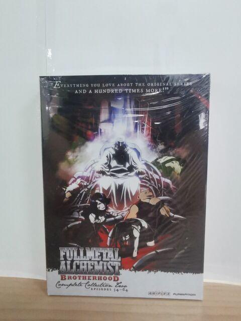 Fullmetal Alchemist : Brotherhood Complete Series DVD set Full Collection 1&2   eBay